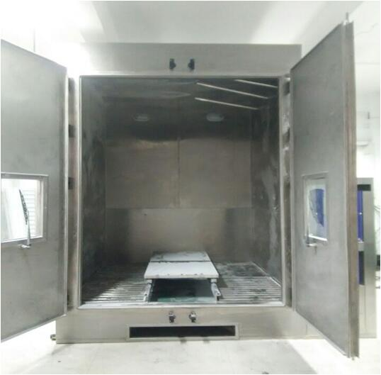 Military Standard Dust Test Chamber SUS304 Stainless Steel Material