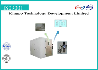 China Stepping Type Dust Test Chamber , Dust Testing Equipment 380V 50HZ supplier