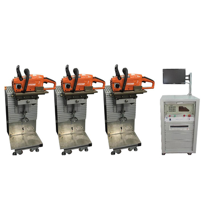 China Power Tool Life Electric Motor Testing System , Electric Chain Saw Life Test Bench factory
