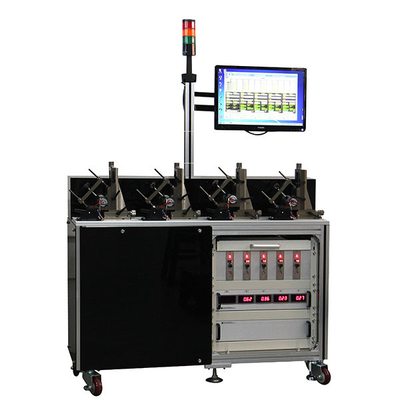 Five Station Electric Motor Testing System For Motor Life Test , Low Noise