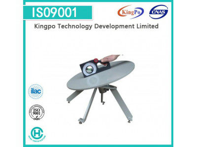 IEC60335-1 Stability Test Turn Table With Digital Inclinometer / Inclined Plane Device
