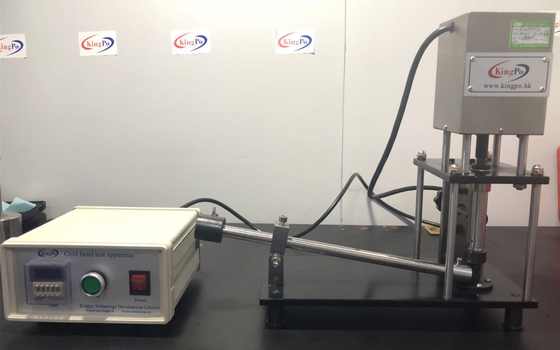 China IEC 60598-2-21 Figure 2 Cold Bend Test Apparatus To Measure Dynamic Bending Performance Of Wire And Cable factory