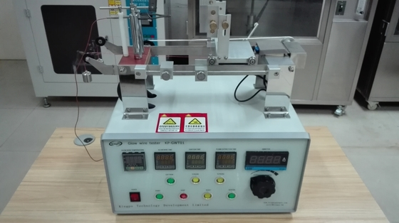 IEC60695-2-10 Glow Wire Tester Simulates Thermal Stress Caused By Heat Source Control