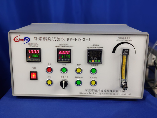 IEC60695-11-5 Table Type Needle Flame Tester For Assessing The Internal Fault Conditions Caused By Small Flame